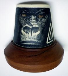 Gorilla Scrimshaw