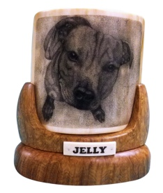 Jelly Dog Scrimshaw