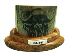 Buff Buffalo Scrimshaw