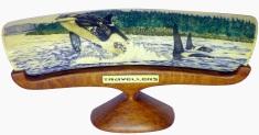 Travellers Killer Whale Scrimshaw