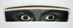 Eyes Scrimshaw