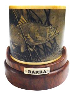 Barra 2 Barramundi Scrimshaw