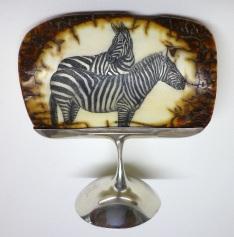 Zebra Scrimshaw
