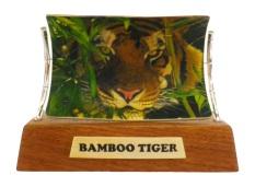 Bamboo Tiger Scrimshaw